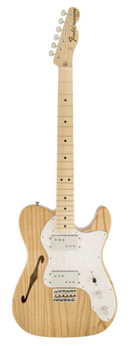 GUITARRA FENDER 72S TELE THINLINE 013-7402-321 NATURAL
