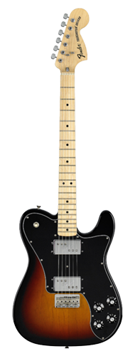 GUITARRA FENDER 72 TELECASTER DELUXE 013-7702-300 3-COLOR SUNBURST