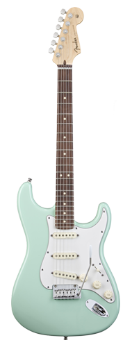 GUITARRA FENDER SIG SERIES JEFF BECK CUSTOM SHOP STRATOCASTER 015-0083-857 SURF GREEN