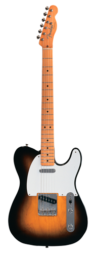 GUITARRA FENDER 50 TELECASTER 013-1202-303 2-COLOR SUNBURST