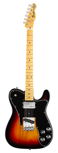 GUITARRA FENDER 72S TELE CUSTOM MN 013-7502-300 3-COLOR SUNBURST