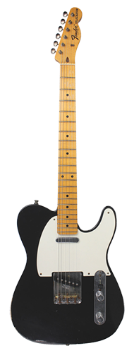 GUITARRA FENDER LTD COLLECTION TELECASTER PRO RELIC 150-0602-806 BLACK