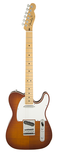 GUITARRA FENDER TELECASTER AMERICAN CUSTOM FLAME MAPLE TOP 155-6152-833 VIOLIN BURST