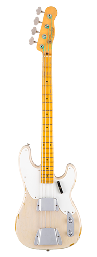 CONTRABAIXO FENDER JOURNEYMAN RELIC PRECISION BASS 151-0045-899 DIRTY WHITE BLONDE