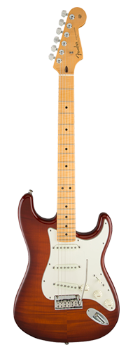 GUITARRA FENDER STRATOCASTER AMERICAN CUSTOM FLAME TOP 155-9152-833 VIOLIN BURST