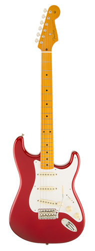 GUITARRA FENDER 50S STRATOCASTER LACQUER MN 014-0061-709 CANDY APPLE RED
