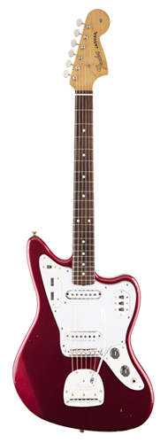 GUITARRA FENDER ROAD WORN 60 JAGUAR 014-4900-309 CANDY APPLE RED