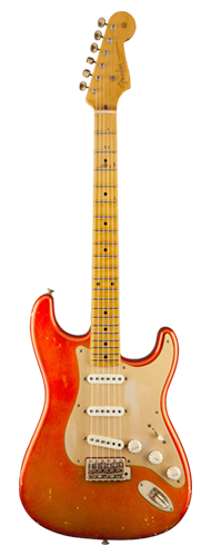 GUITARRA FENDER 56 STRATOCASTER RELIC TIME MACHINE ASH 150-0602-882 CANDY TANGERINE