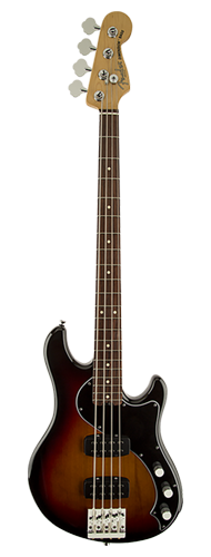 CONTRABAIXO FENDER AM STANDARD DIMENSION BASS IV HH RW 019-1600-700 3-COLOR SUNBURST