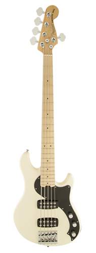 CONTRABAIXO FENDER AM STANDARD DIMENSION BASS V HH MN 019-1702-705 OLYMPIC WHITE