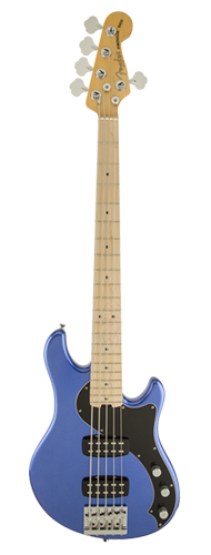 CONTRABAIXO FENDER AM STANDARD DIMENSION BASS V HH MN 019-1702-773 OCEAN BLUE METALLIC