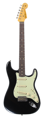 GUITARRA FENDER 61 STRATOCASTER JOURNEY RELIC TIME MACHINE COLLECTION 923-1007-534 AGED BLACK