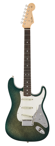 GUITARRA FENDER STRATOCASTER MARK KENDRICK FOUNDERS DESIGN 923-5000-597 GOLDEN TEAL SPARKLE