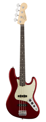 CONTRABAIXO FENDER AM PROFESSIONAL JAZZ BASS ROSEWOOD 019-3900-709 CANDY APPLE RED