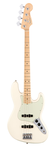 CONTRABAIXO FENDER AM PROFESSIONAL JAZZ BASS MAPLE 019-3902-705 OLYMPIC WHITE