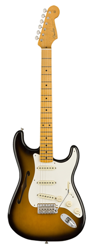 GUITARRA FENDER SIG SERIES ERIC JOHNSON STRATOCASTER THINLINE 011-3602-703 2-COLOR SUNBURST