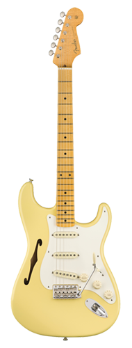 GUITARRA FENDER SIG SERIES ERIC JOHNSON STRATOCASTER THINLINE 011-3602-741 VINTAGE WHITE