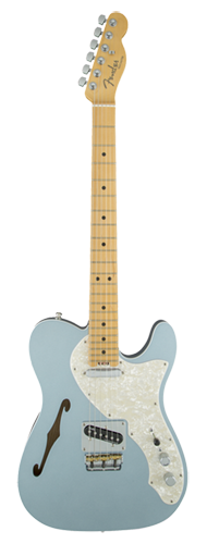 GUITARRA FENDER AM ELITE TELECASTER THINLINE MAPLE 011-4312-762 MYSTIC ICE BLUE