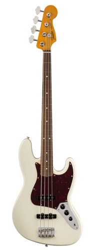 CONTRABAIXO FENDER 60S JAZZ BASS LACQUER PF 014-0193-705 OLYMPIC WHITE