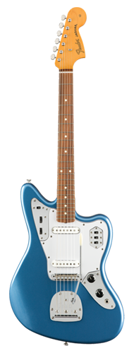 GUITARRA FENDER 60S JAGUAR LACQUER PF 014-1233-702 LAKE PLACID BLUE