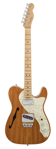 GUITARRA FENDER AM ELITE TELECASTER THINLINE MAHOGANY LTD EDITION 017-5103-721 NATURAL