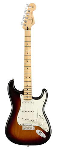 GUITARRA FENDER PLAYER STRATOCASTER MN 014-4502-500 3-COLOR SUNBURST