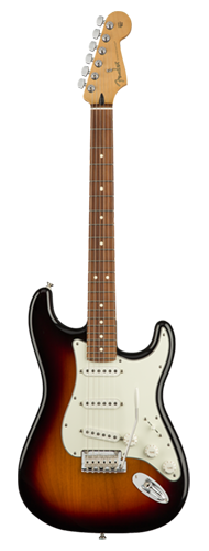 GUITARRA FENDER PLAYER STRATOCASTER PF 014-4503-500 3-COLOR SUNBURST