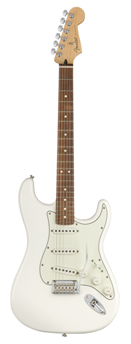 GUITARRA FENDER PLAYER STRATOCASTER PF 014-4503-515 POLAR WHITE