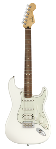 GUITARRA FENDER PLAYER STRATOCASTER HSS PF 014-4523-515 POLAR WHITE