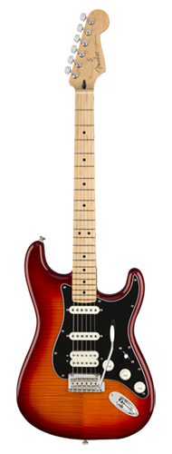 GUITARRA FENDER PLAYER STRATOCASTER HSS PLUS TOP MN 014-4562-531 AGED CHERRY BURST