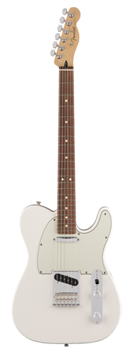 GUITARRA FENDER PLAYER TELECASTER PF 014-5213-515 POLAR WHITE