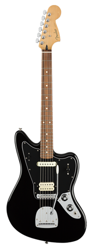 GUITARRA FENDER PLAYER JAGUAR PF 014-6303-506 BLACK
