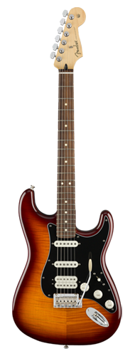 GUITARRA FENDER PLAYER STRATOCASTER HSS PLUS TOP PF 014-4563-552 TOBACCO SUNBURST