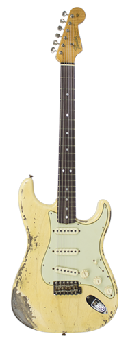 GUITARRA FENDER 65 STRATOCASTER HEAVY RELIC LTD EDITION 923-1009-512 S. FADED AGED NOCAST BLD
