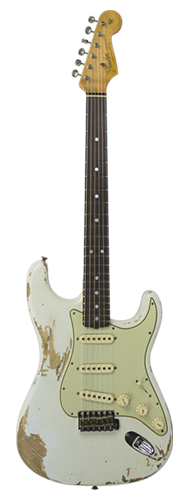 GUITARRA FENDER 65 STRATOCASTER HEAVY RELIC LTD EDITION 923-1009-513 S. FADED AGED SONIC BLUE