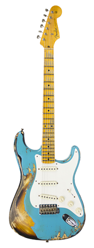 GUITARRA FENDER 57 STRATOCASTER HEAVY RELIC LTD EDITION 923-1009-547 TAOS TURQUOISE OVER 2-TS