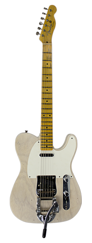 GUITARRA FENDER TELECASTER TWISTED JOURNEYMAN RELIC LTD EDITION 923-5000-492 AGED WHT BLONDE