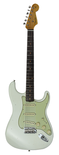 GUITARRA FENDER 59 STRATOCASTER VINTAGE CUSTOM RELIC LTD EDITION 923-5000-657 AGED OLYMPIC WH