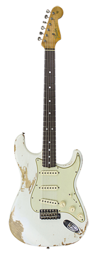 GUITARRA FENDER 60 STRATOCASTER ROASTED RELIC LTD EDITION 923-5000-669 AGED OLYMPIC WHITE