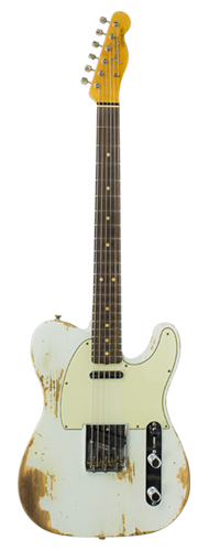 GUITARRA FENDER 63 TELECASTER COMPOUND RADIUS LTD EDITION 923-1009-523 S.FADED AGED SONIC BLU