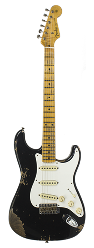 GUITARRA FENDER 58 STRATOCASTER HEAVY RELIC 2018 COLLECTION 923-5000-511 AGED BLACK