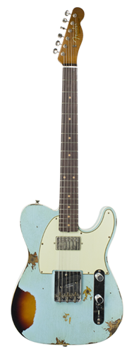 GUITARRA FENDER TELECASTER REVERSE CUSTOM HS HEAVY RELIC 2018 COLLECTION 923-5000-559 ADBL3TS