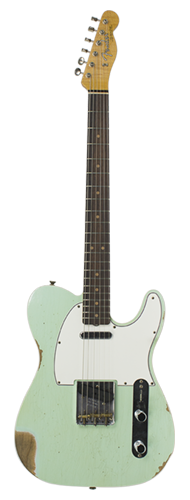 GUITARRA FENDER 60S TELECASTER CUSTOM RELIC LTD EDITION 923-5000-698 S.FADED AGED SURF GREEN
