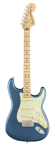 GUITARRA FENDER AM PERFORMER STRATOCASTER MN 011-4912-302 SATIN LAKE PLACID BLUE