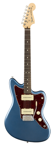 GUITARRA FENDER AM PERFORMER JAZZMASTER RW 011-5210-302 SATIN LAKE PLACID BLUE