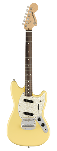GUITARRA FENDER AM PERFORMER MUSTANG RW 011-5510-341 VINTAGE WHITE