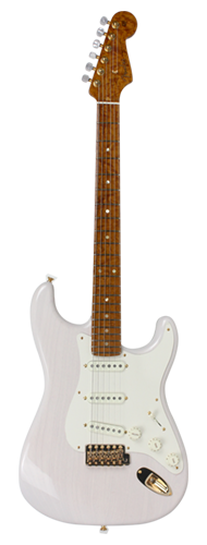 GUITARRA FENDER STRATOCASTER AMERICAN CUSTOM NOS LTD EDITION 923-5000-707 WHITE BLONDE