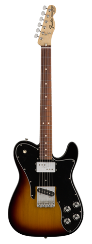 GUITARRA FENDER 72S TELE CUSTOM PF 013-7503-300 3-COLOR SUNBURST