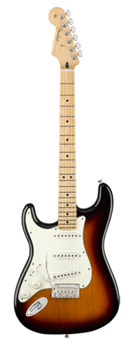 GUITARRA FENDER PLAYER STRATOCASTER LH MN 014-4512-500 3-COLOR SUNBURST