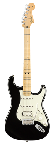 GUITARRA FENDER PLAYER STRATOCASTER HSS MN 014-4522-506 BLACK